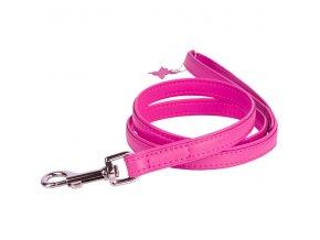 collar voditko ploche pink