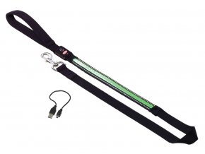 24752 nobby flash mesh svitici zelene voditko 120cm 25mm