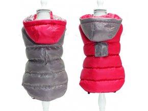Croci Twosides Red oboustranná bunda pro psy (Velikost výrobku 45)