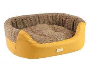 pelech pro psa argi ovalny morgan zluty 54 x 45 x 16 cm