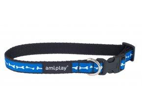 01. Adjustable Collar Joy Blue Bones