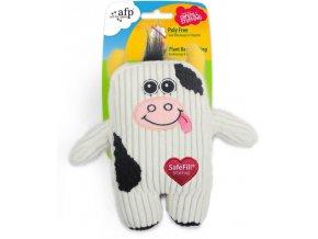 27856 all for paws plysova krava s prirodni naplni