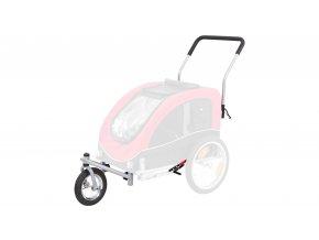 28510 1 trixie predni kolo a drzadlo k voziku 12814 konverze na behani