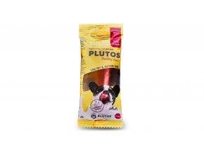 Plutos sýrová kost Small s vepřovou šunkou