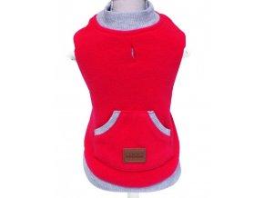 Croci Cervinia Reboot fleece mikina červená (Velikost výrobku 30)