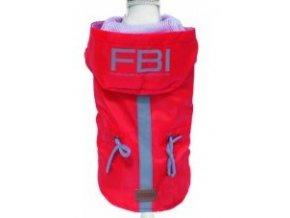 Croci Vancouver FBI pláštěnka červená