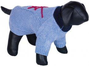 Nobby BANDA pletený svetr pro psy modrý (Velikost výrobku 44)