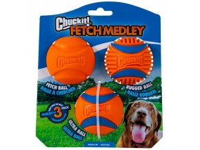 Chuckit míčky Medley 3 Medium sada 6,5 cm