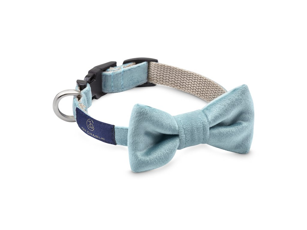 Bow tie Glam blue