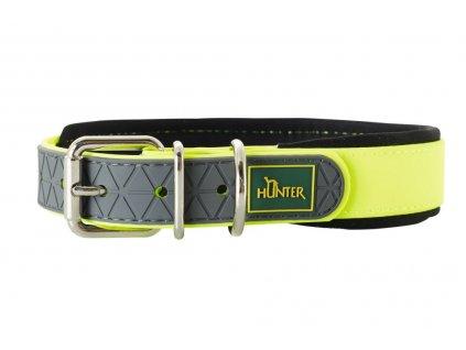 Obojek Hunter Convenience Comfort žlutá