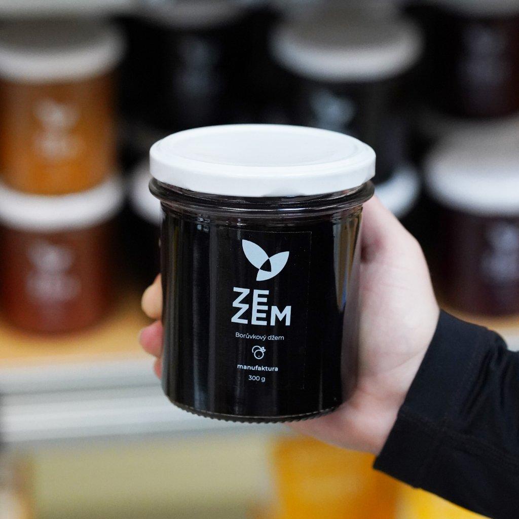 Borůvkový džem ZEZEM 300g