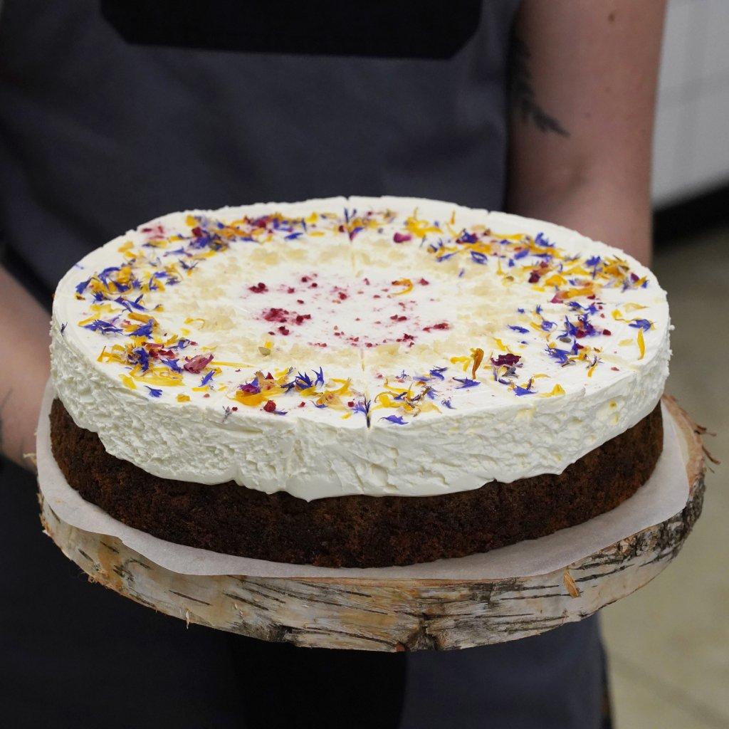 Mrkvový dort.
