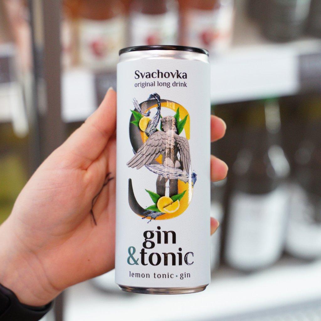 Gin + tonic 250ml