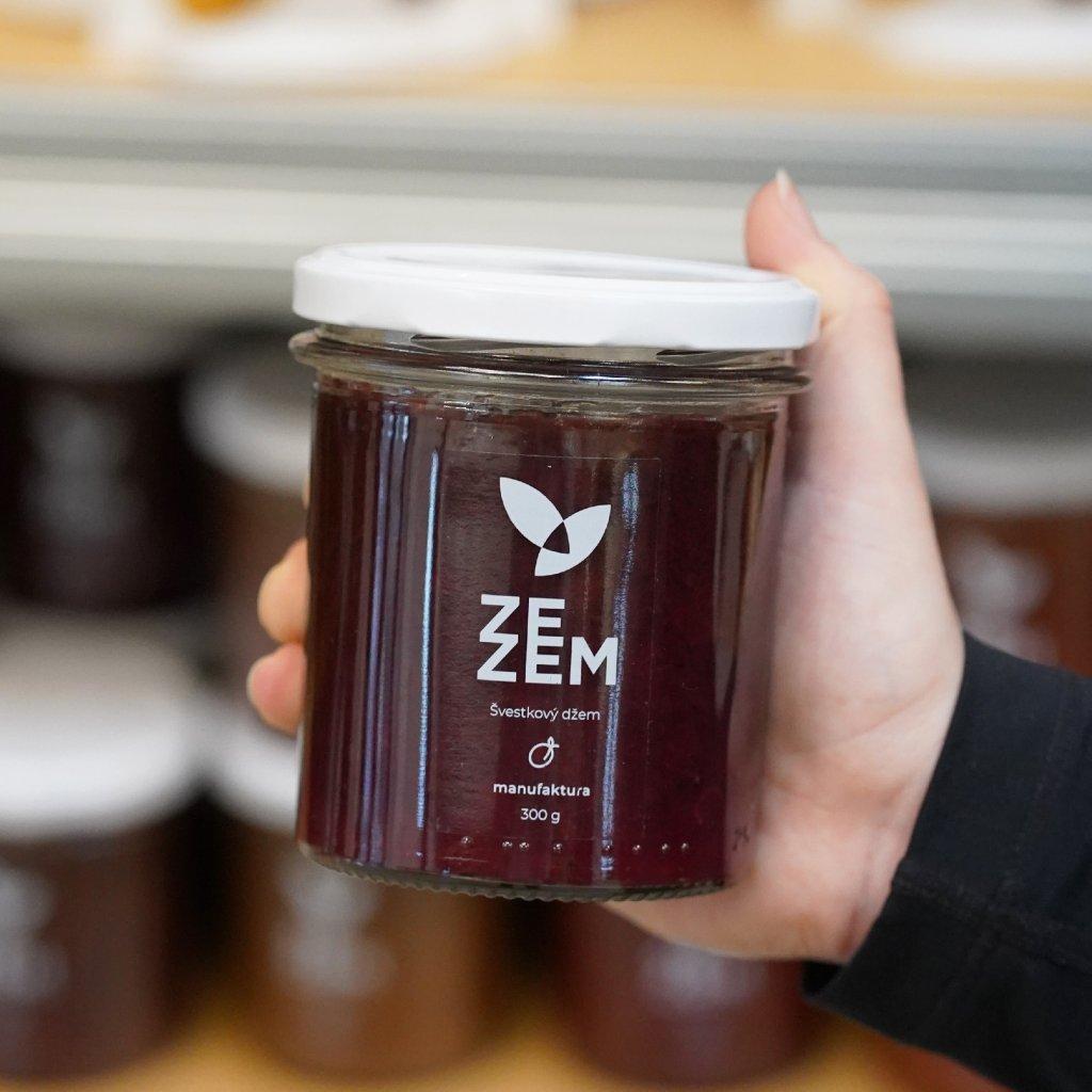 Švestkový džem ZEZEM 300 g