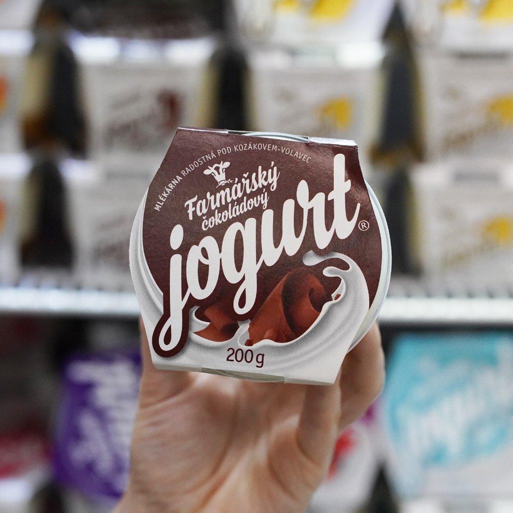 Jogurt čokoláda z farmy Volavec 200g