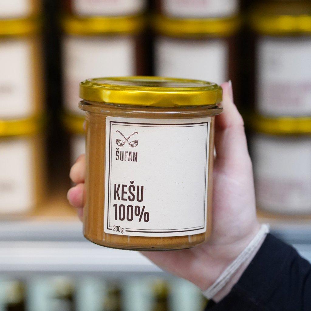 Šufan. Kešu máslo 100 % 330g