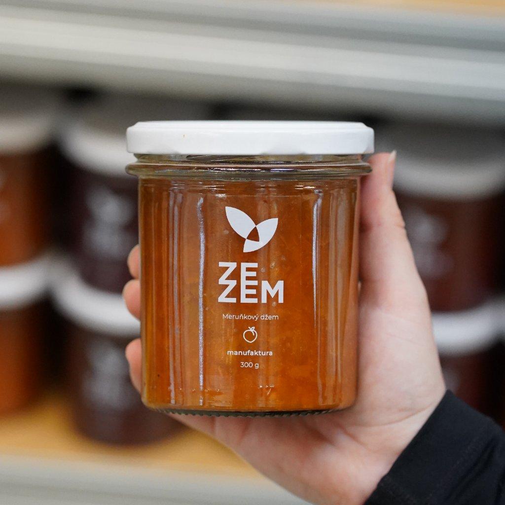Meruňkový džem ZEZEM 300g
