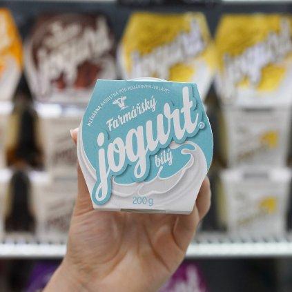 Jogurt bílý z farmy Volavec 200 g