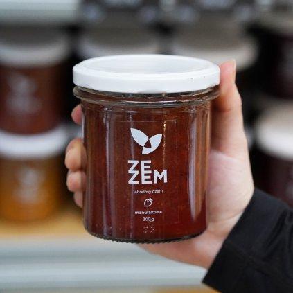 Jahodový džem ZEZEM 300g
