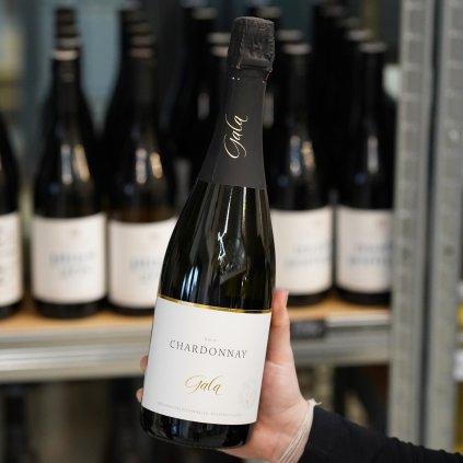 Sekt Chardonnay z vinařství Gala