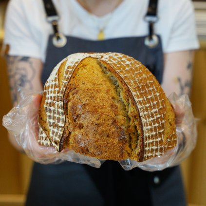 Pšenično-žitný chléb DOK – 1/2  500g