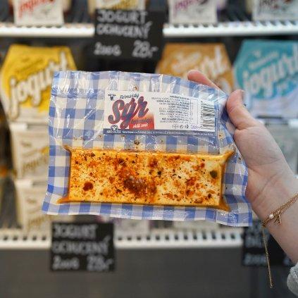 Čerstvý chilli sýr z farmy Volavec 100g