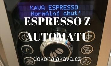 Čtyři kroky ke skvělé kávě z automatu