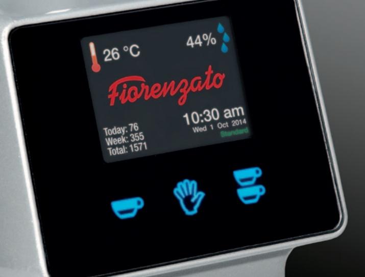 Fiorenzato F64E display