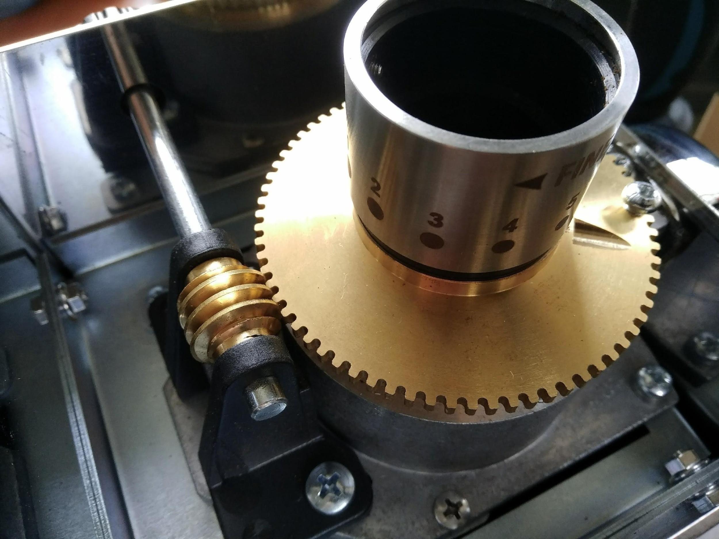 ascaso steel uno - nastavení mlýnku