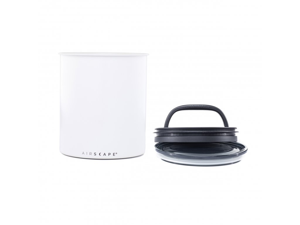 Airscape Kilo coffee canister Matte White AA2008 02 web