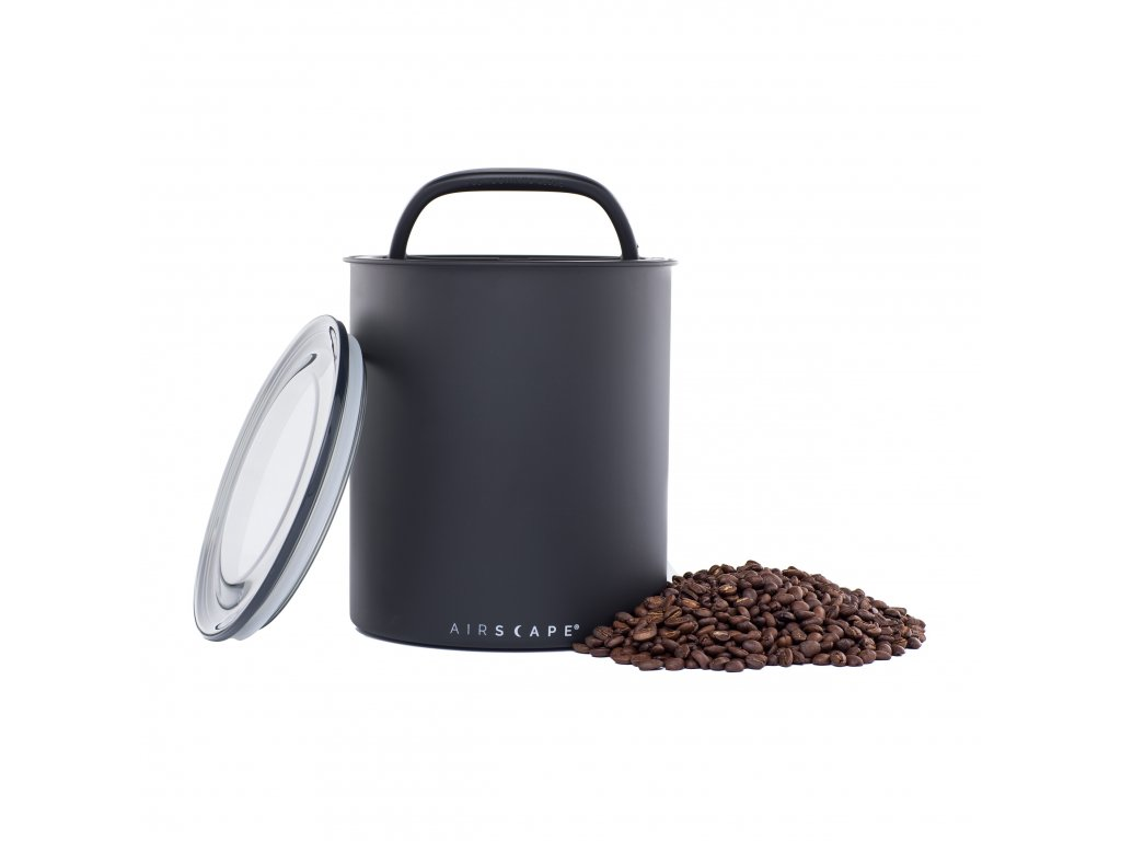 Airscape Kilo coffee canister Matte Black AA1708 01 web