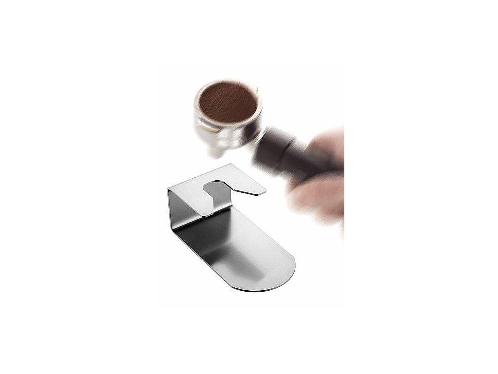 Podstavec pro pěchování kávy