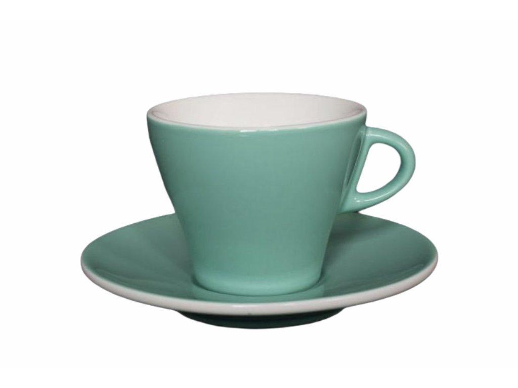 Šálek na cappuccino GARDENIA verde chiaro 170 ml