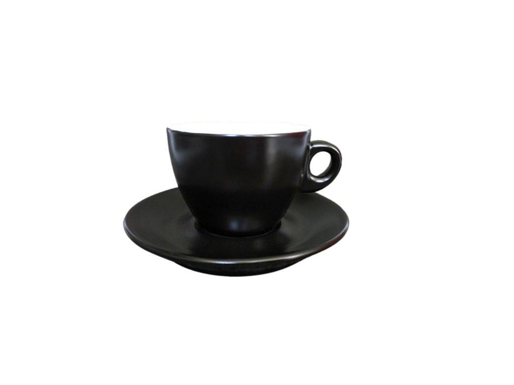 Giacinto cappuccino black matt