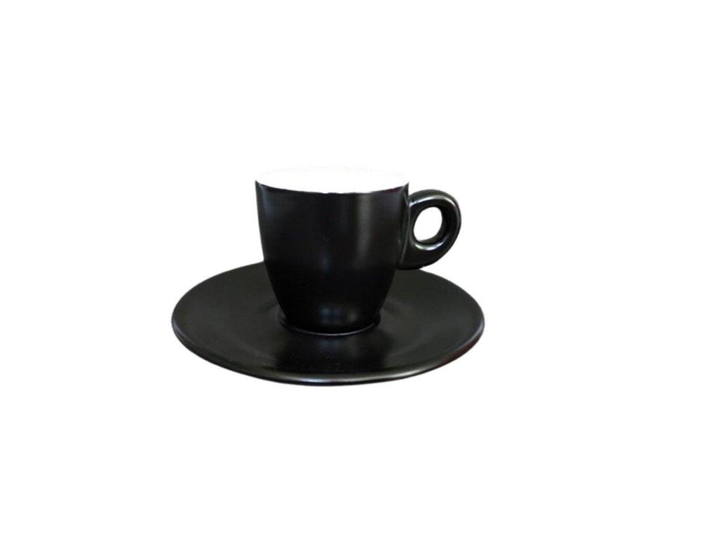 Giacinto caffe black matt