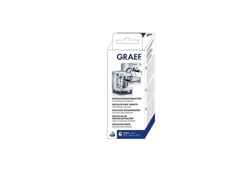 Tablety pro odvápnění kávovarů Graef