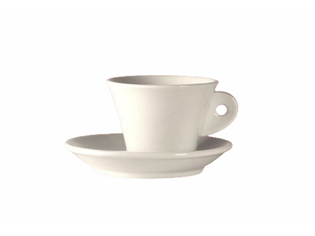 Šálek na cappuccino CALLA bianco 170 ml