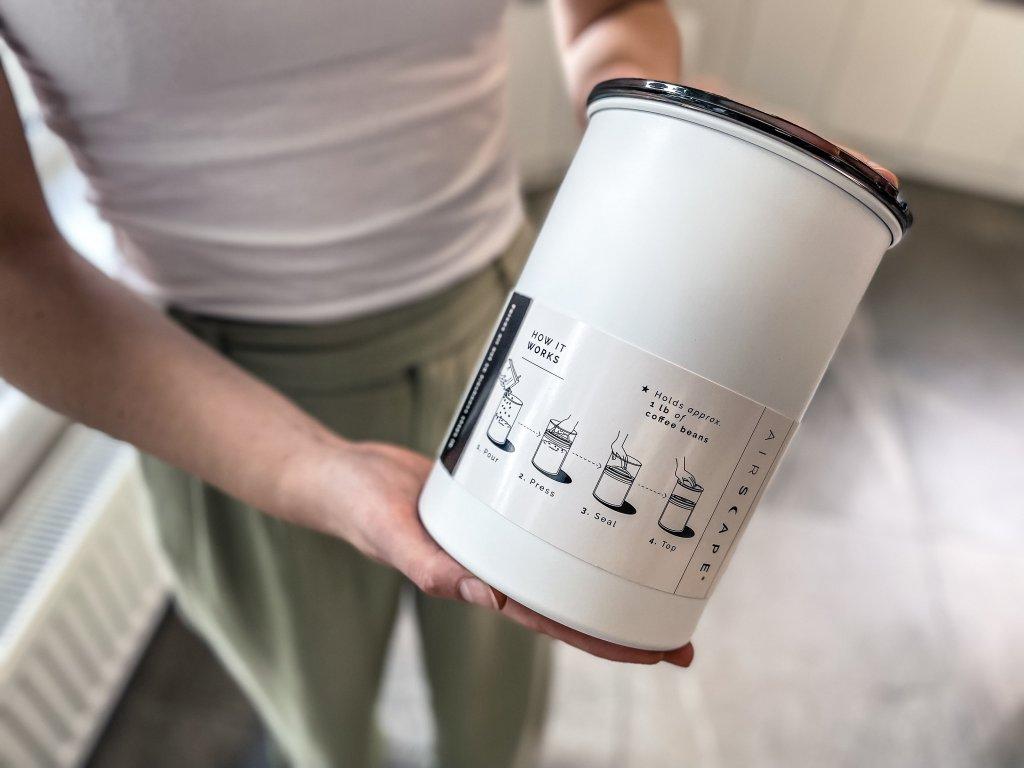 Dóza na kávu Obsidian 450 g