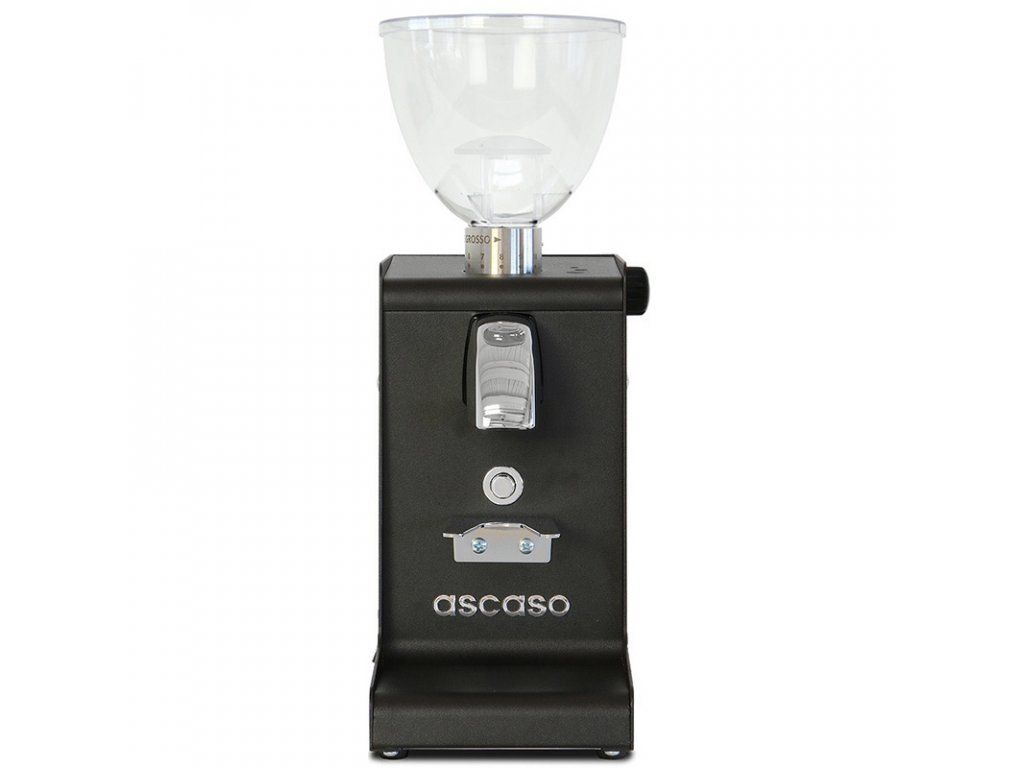 Elektrický mlýnek na kávu I-steel ASCASO černý