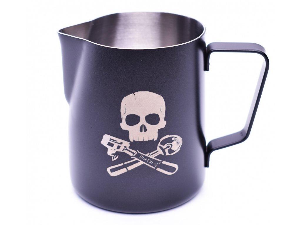 6 mk06xp milk pitcher skull bones