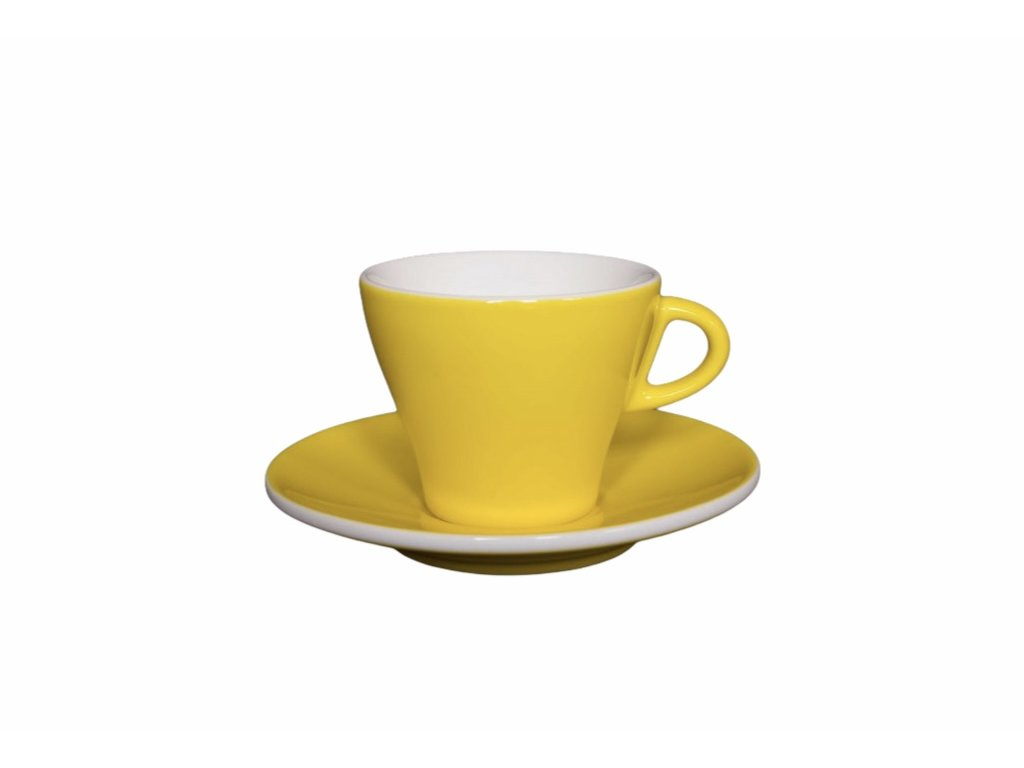 Šálek na cappuccino GARDENIA giallo chiaro 170 ml