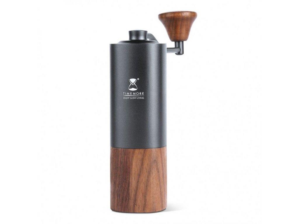 TM Timemore G1 ruční mlýnek na kávu černý/dřevo