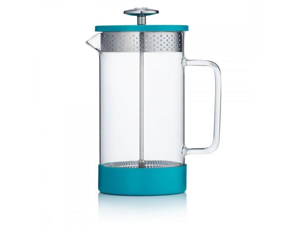 Barista & Co Core Cofee Press 8 šálků tyrkysový