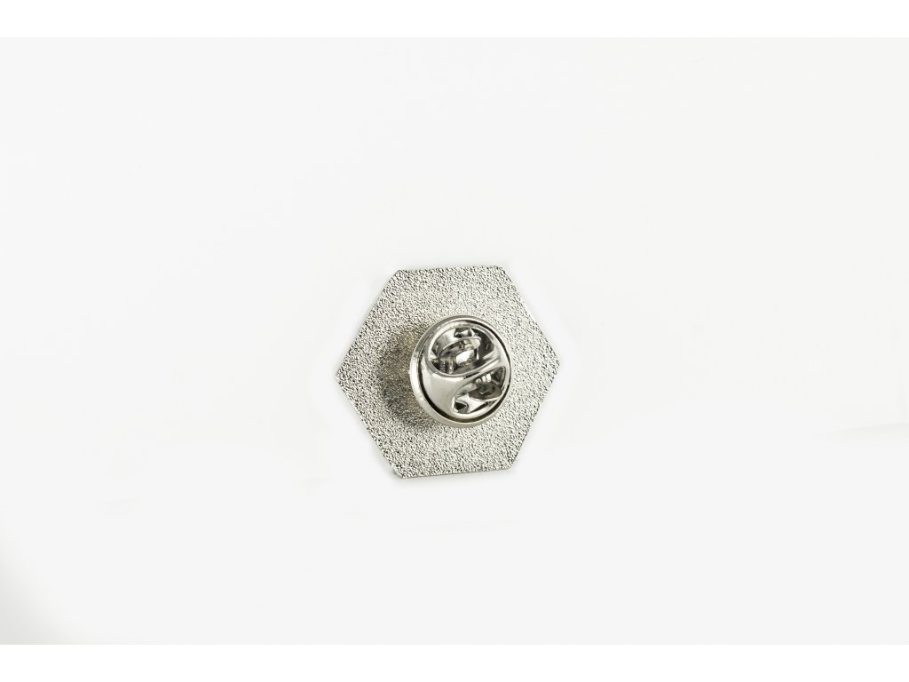 Odznak chemický vzorec kávy