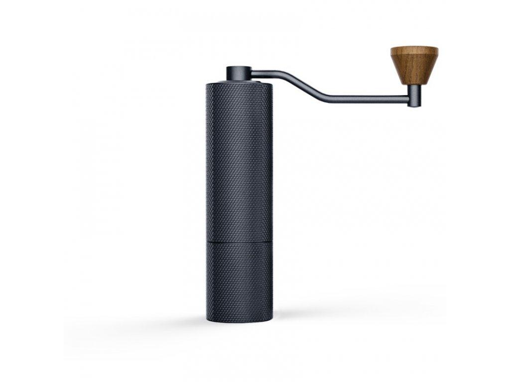 TM Timemore Slim mlýnek na kávu černý se dřevem a titanové kameny