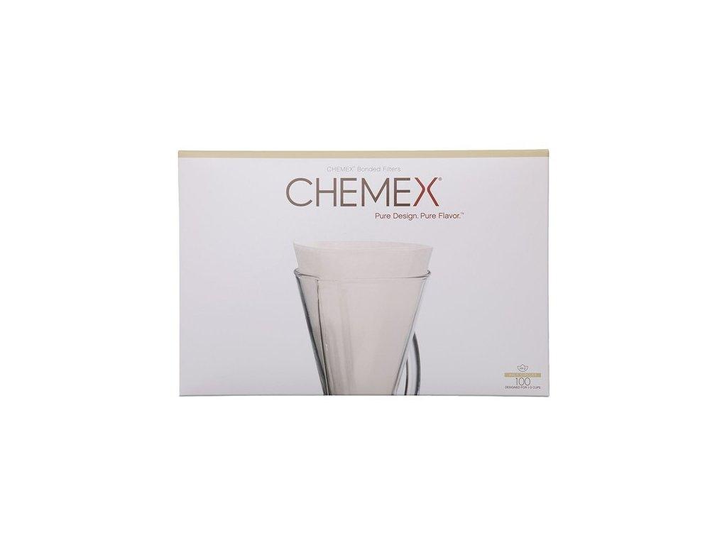 Papírové filtry pro Chemex 3 šálky