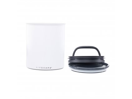 Airscape Kilo coffee canister Matte White AA2008 02 web