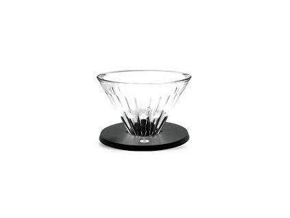 TM Timemore Crystal Eye skleněný dripper V01 černý