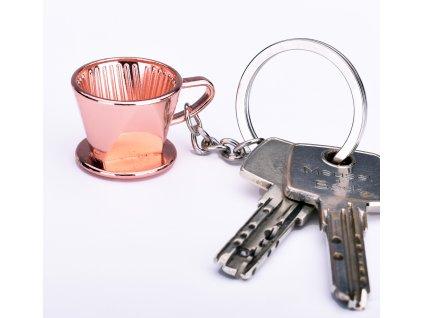 16 afc key holder coffee filter copper