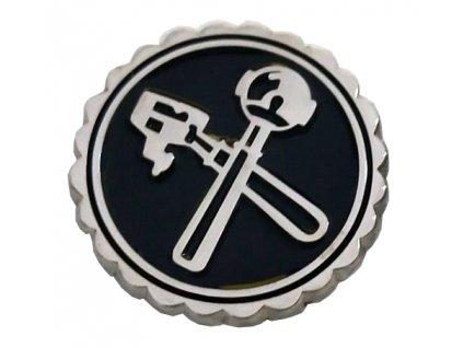 16 pip pin sticker siebtr ger